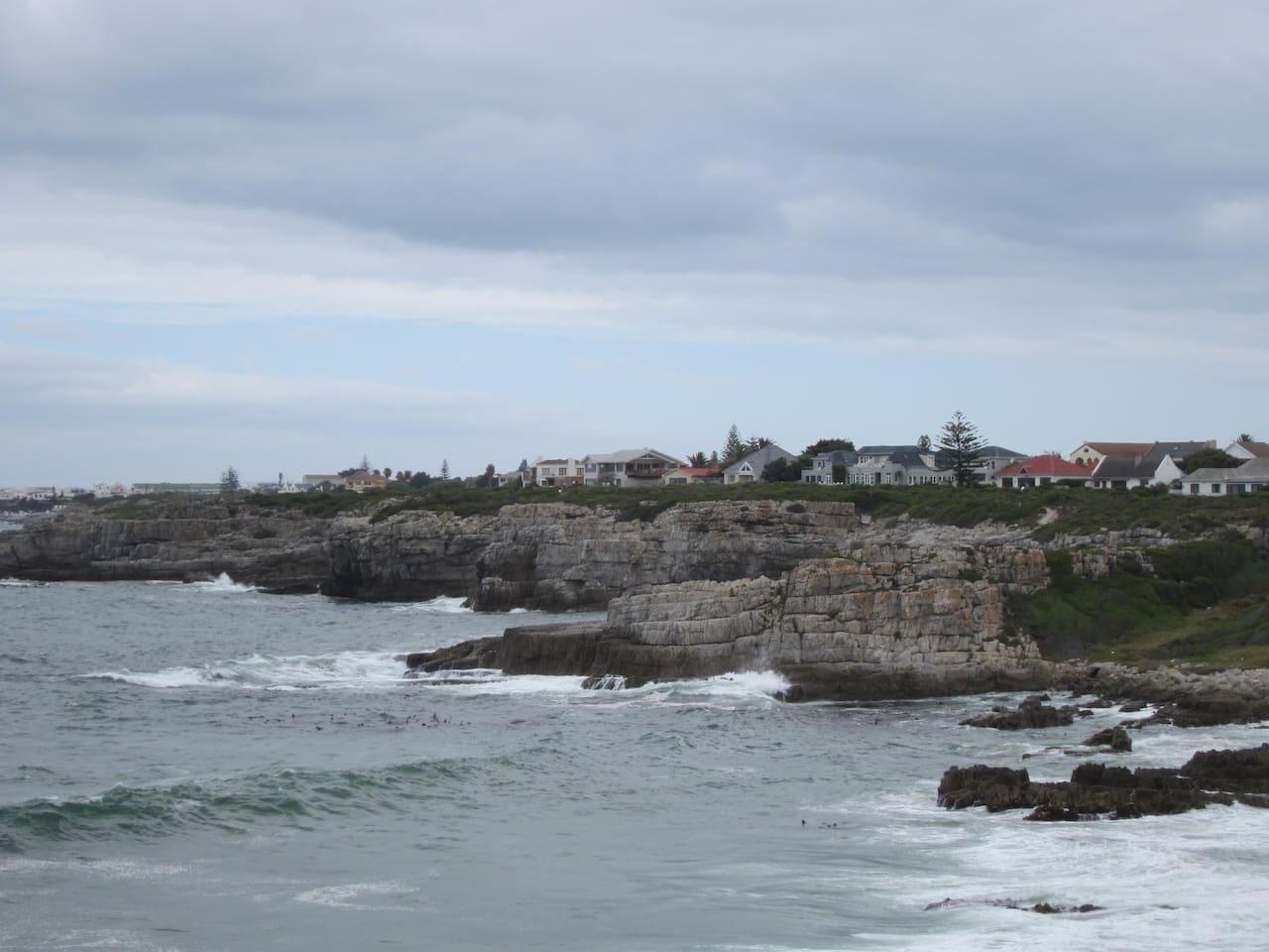 Villa location on the Cliffs