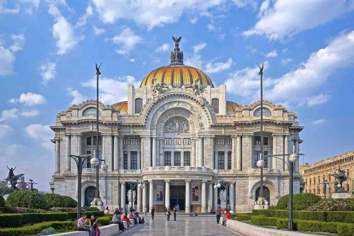 Lux Apt Bellas Artes-Historic Center-Top Location