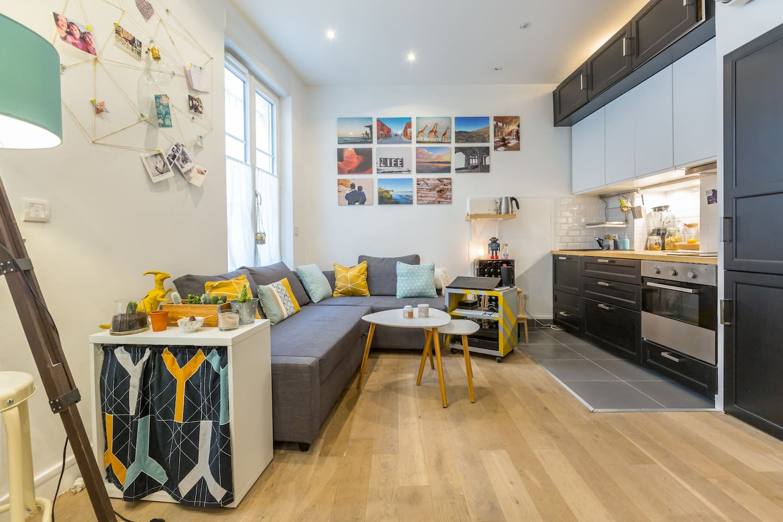 Nice flat, 1 bedroom, renovated