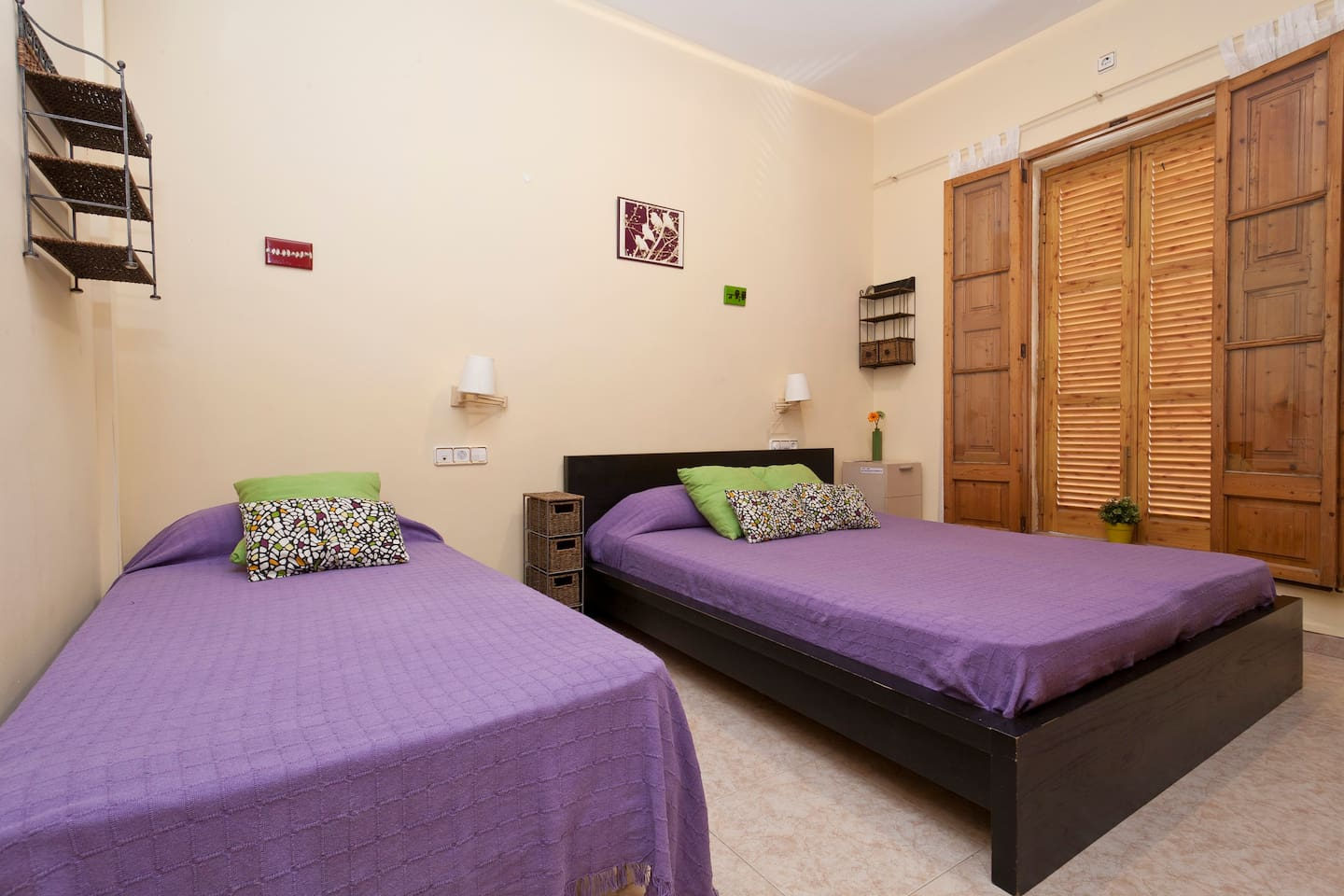 SUITE WITH BATH FOR 2 OR 3 PEOPLE!