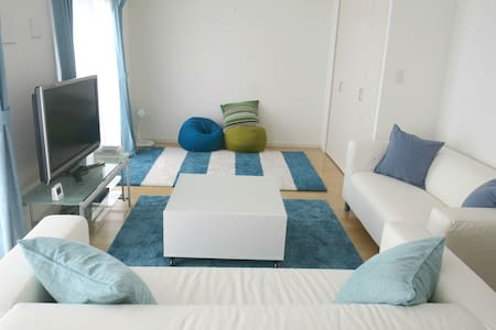 Condo with ocean view, walking to central Ishigaki - Ishigaki-shi - Appartement en résidence