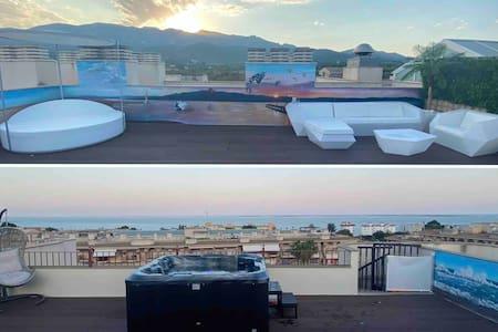 Ático con terraza chill-out 🌅 spa DELTA'S PARADISE