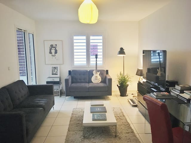 Cosy, calm and central apartment in Saint-Denis