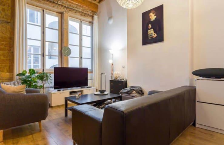 Chambre à Hôtel de ville +petit dej - ลียง - ที่พักพร้อมอาหารเช้า