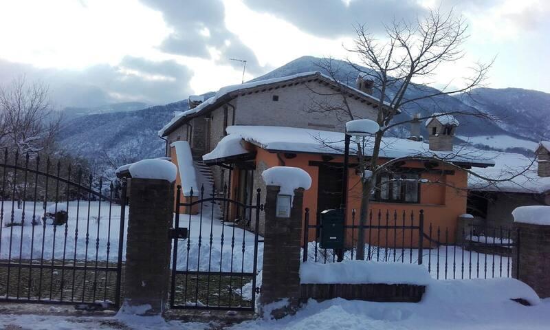 Casa Vinto invernale