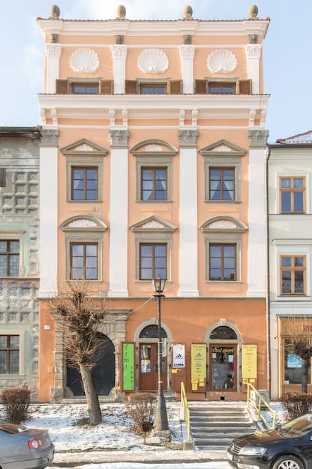 You will be renting the first and second floors of this magnificent renaissance building.