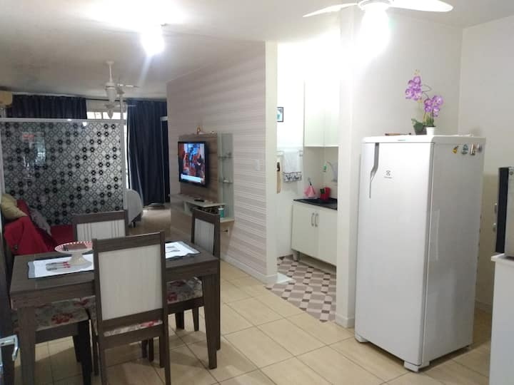 Ambiente familiar confortável limpo e  seguro.