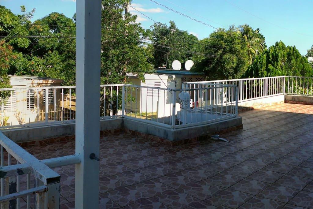 building balcony