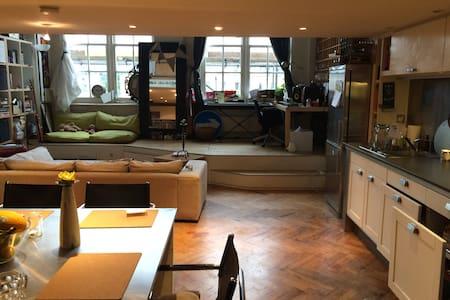 Open-plan stylish & homely 1bed+bath in Greenwich - London