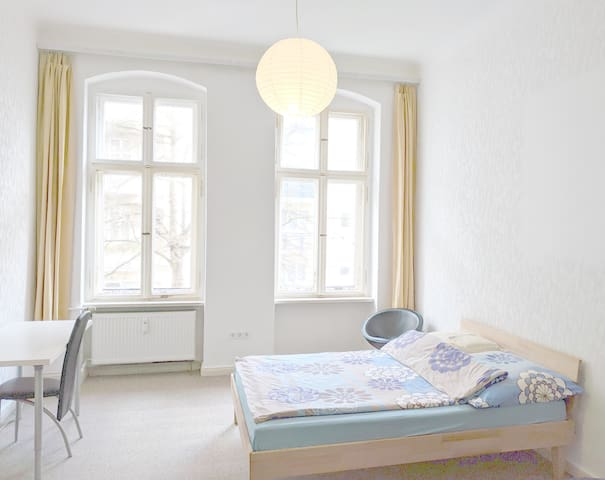 Sunny room in central location 2 minutes to metro