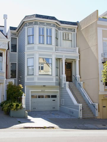 Luxurious, high end, modern, remodeled Victorian.