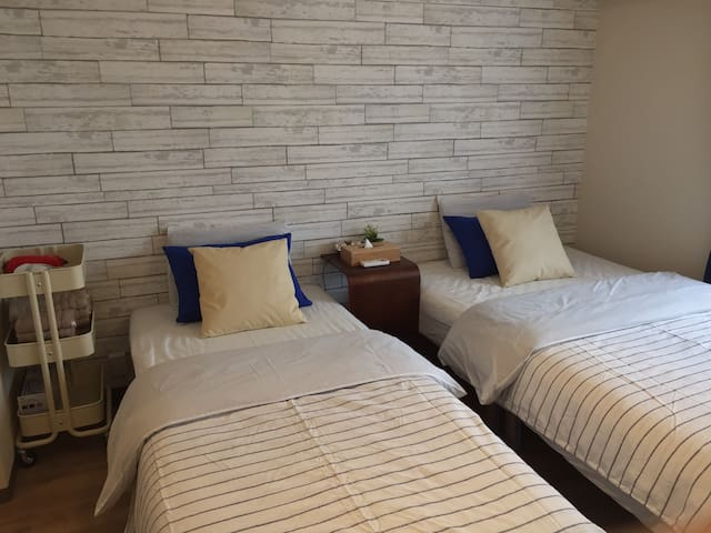 F#B JRNamba 3min close to Doutonbori★Cozy Stud - Naniwa Ward, Osaka - Apartment