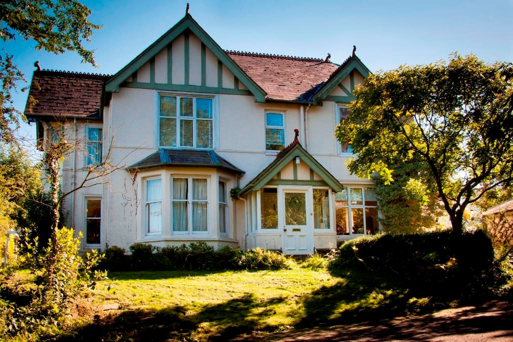 Edwardian Villa in the heart of the Brecon beacons