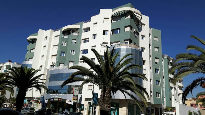 elegant 2 bed flat, 10-15 min walk from beach - Agadir - Apartamento