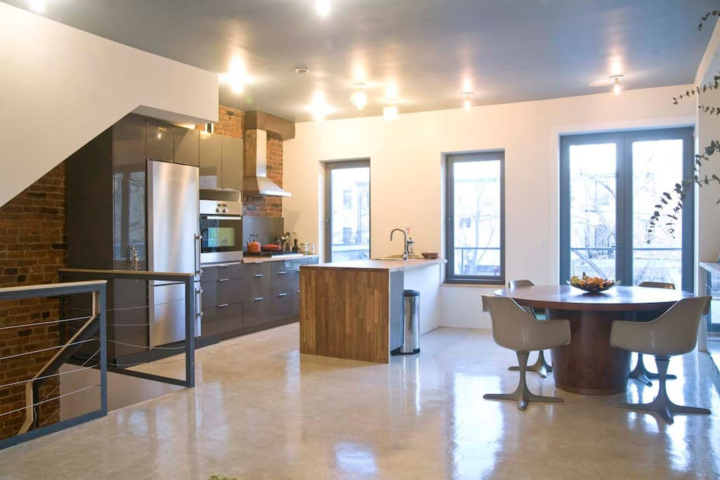 modern townhouse duplex brooklyn prospect heights houses for rent in brooklyn new york. Black Bedroom Furniture Sets. Home Design Ideas
