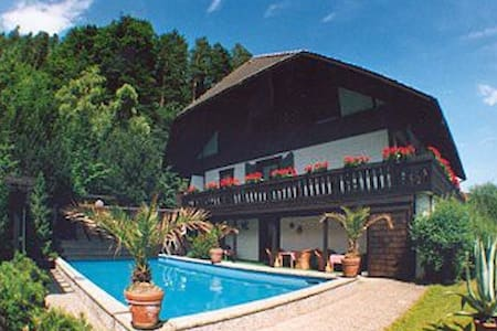 Black forest: Apartments with pool - Lauterbach