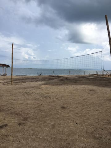 Volleyball area