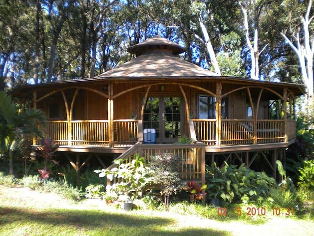 Hawaiian Dream Temple w/hot tub - Haiku-Pauwela - Dům