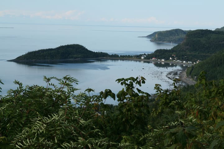 St-Fabien-sur-mer: Charming Cove - Saint-Fabien - Leilighet