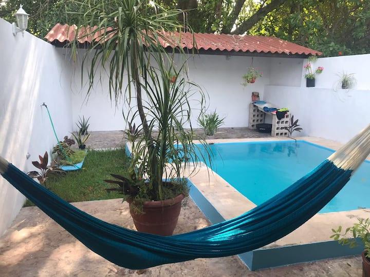 Casa de playa en Sisal, Yucatán