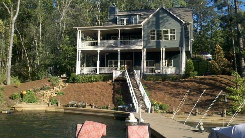 Beautiful Lake Martin home near Anchor Bay & Dam
