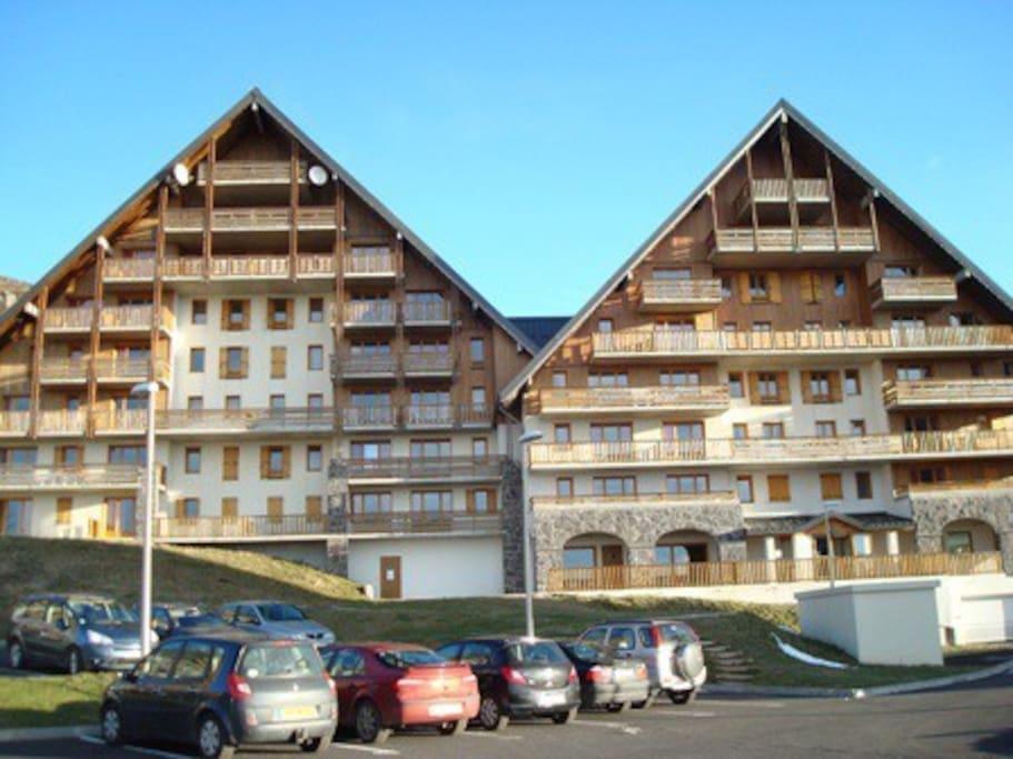 Appartement 1 chambre pour 4 pers super besse - Office de tourisme super besse besse et saint anastaise ...