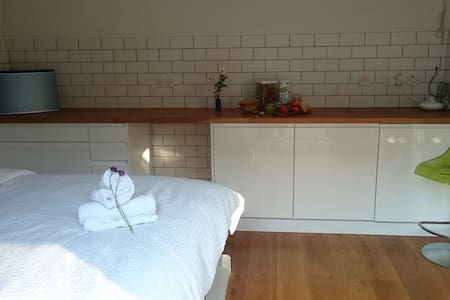 Contemporary tiny home in quaint village - Kislingbury - Overig