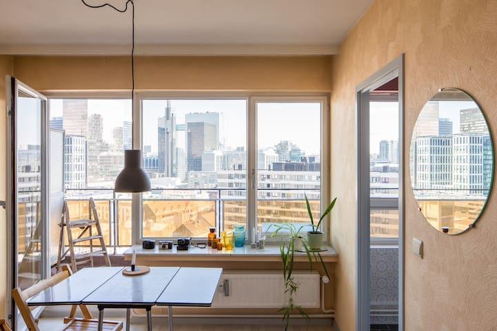 Studio vintage - Vue panoramique sur Bruxelles