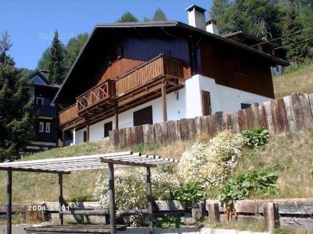 Panoramico Chalet nel bosco - Oga - Apartment