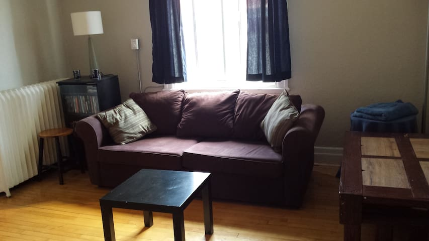 Sunny Room in Beautiful, Rustic Building - Montréal - Wohnung
