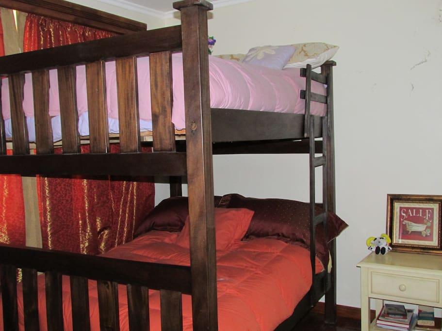 Double Room with Queen Bunks