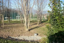 Residence - Tennis / football courts