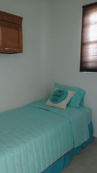 Second room, with single bed