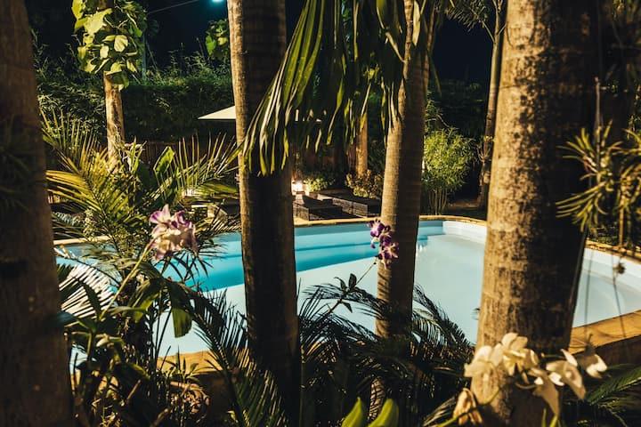 An oasis of peace Chiang Mai , Liam's suan dok mai