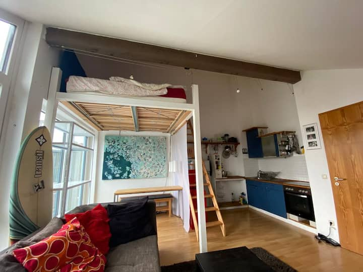 Cozy Loft in Munich