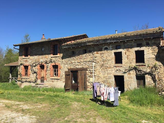 vakantiewoning met veel rust en ruimte in Auvergne