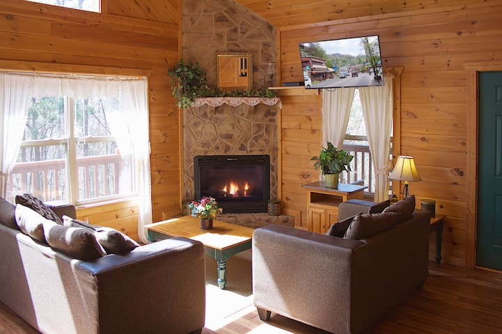 Secluded,Beautiful Gat'burg Pigeon Forge Area,Cozy