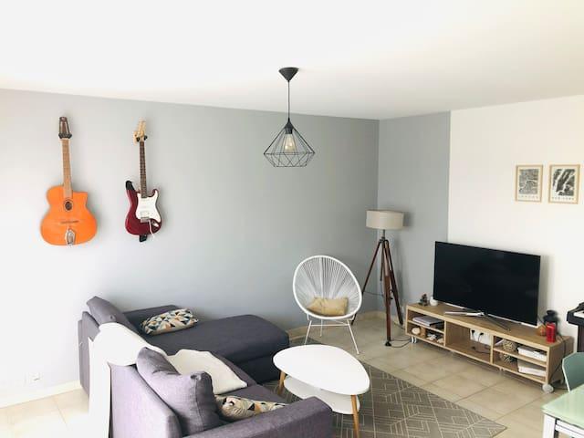 Appartement proche La Rochelle avec accès piscine