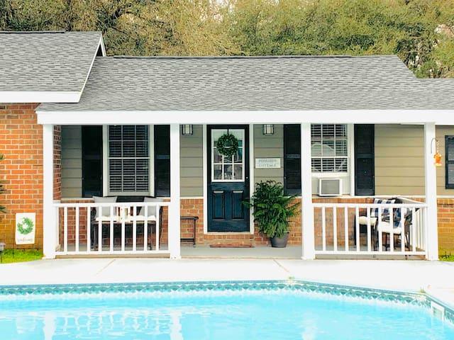 Poolside Cottage