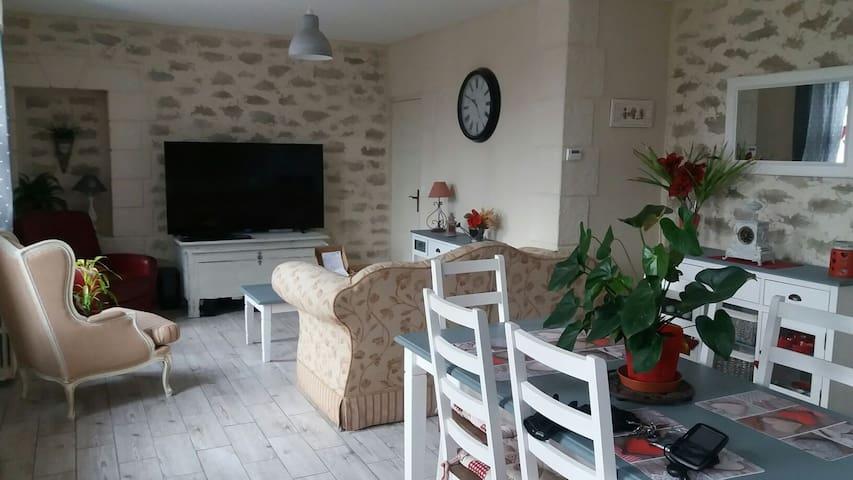Maison solognotte tous conforts - Romorantin-Lanthenay - Casa