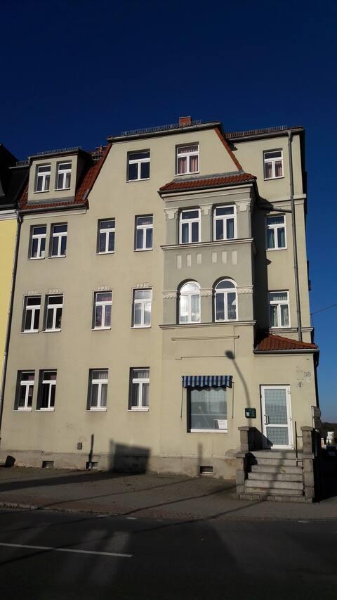 60 qm Wohnung in Jugendstilhaus