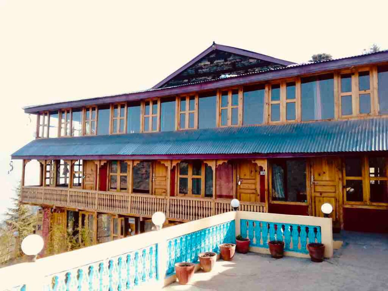 Traditional Himachali Home