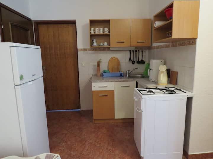 Appartamento con una camera da letto, al mare, a Novalja - isola di Pag, Il balcone