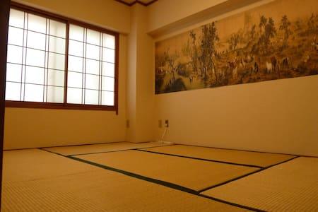 Airbnb大阪 心齋橋 道頓屈 日本橋 黑門市場 公寓 酒店 民宿 家庭旅館1 - Osaka