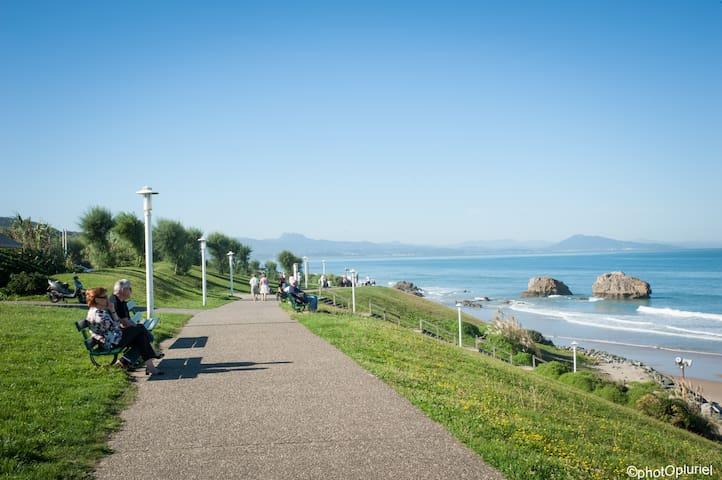 Vos loisirs à 2 pas:plage surf..... - Biarritz