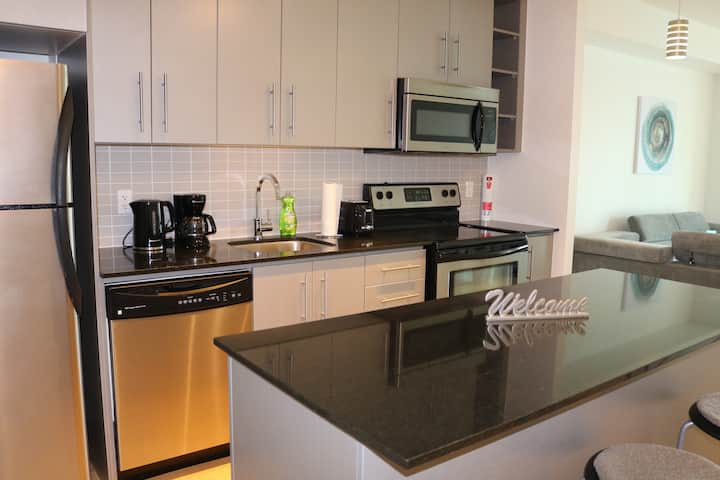 Modern, Clean, Cozy, condo in Downtown Toronto