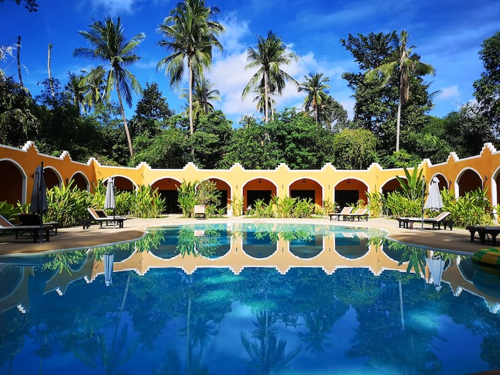Hasia leisure resort 2 min walk to lamai beach samui thailand