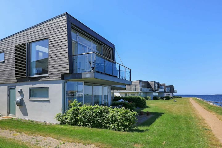 Modern Holiday Home in Stege Denmark with Terrace