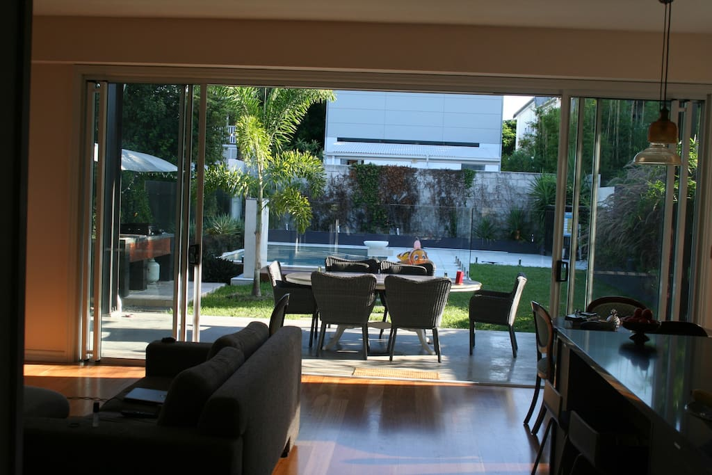 alfresco/kitchen /main living area