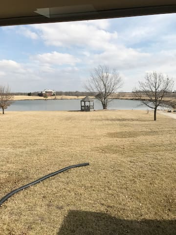 Country Haven with Private Lake - 1 Bedroom - Olathe - Haus